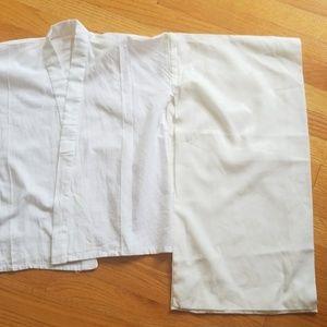 Kimono Jacket / cropped long sleeve juban